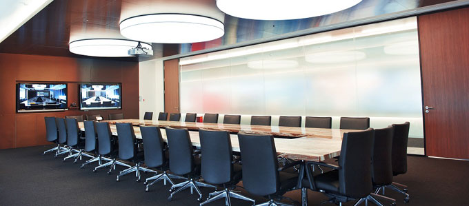 智能电子会议室图片