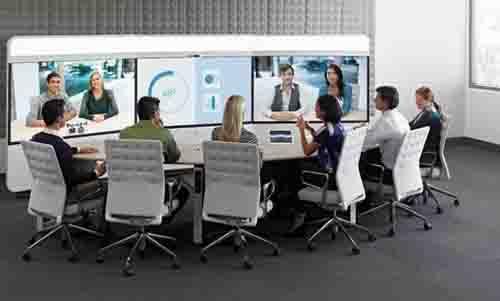 视频会议室背景墙有什么设计要求呢?用什么颜色对摄像